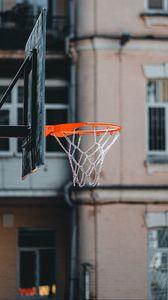 Preview wallpaper basketball, basketball backboard, chains, ring