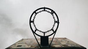 Preview wallpaper basketball, basketball hoop, backboard
