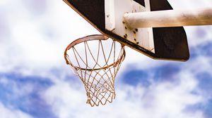 Preview wallpaper basketball, net, ring