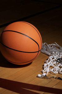 Preview wallpaper basketball, net, whistle, sports