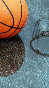 Preview wallpaper basketball, pool, reflection