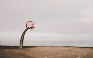 Preview wallpaper basketball, ring, mesh