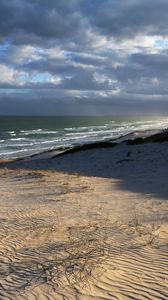 Preview wallpaper beach, shore, sea, nature, landscape