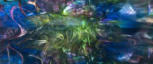 Preview wallpaper bends, glow, abstraction, colorful