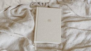 Preview wallpaper bible, book, religion, god, pillow, bed, white