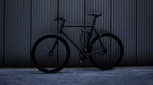 Preview wallpaper bicycle, bike, black