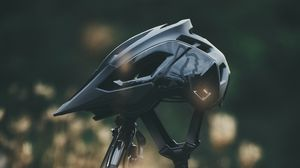 Preview wallpaper bicycle, helmet, bike, mtb