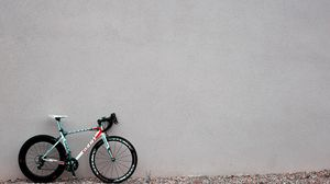 Preview wallpaper bicycle, wall, sports