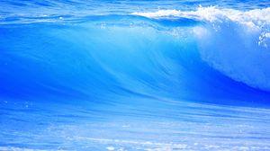Preview wallpaper big, blue, wave, sea