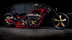 Preview wallpaper bike, chopper, stylish