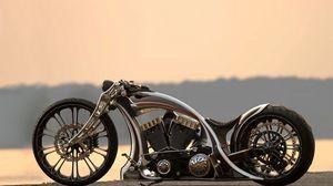 Preview wallpaper bike, custom, unbreakable, motorcycle