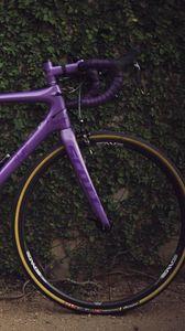 Preview wallpaper bike, sport, bushes