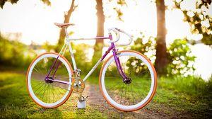 Preview wallpaper bike, summer, spring, sun, mood