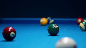 Preview wallpaper billiards, bowls, table, broadcloth