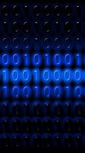 Preview wallpaper binary code, numbers, programming