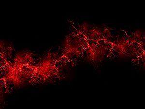 Preview wallpaper black background, red, color, paint, explosion, burst