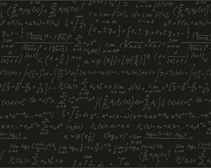 Preview wallpaper black, formula, board