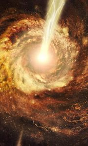 Preview wallpaper black hole, blazars, bl lacertae objects, energy, galaxy