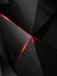 Preview wallpaper black, light, dark, figures