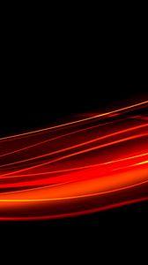 Preview wallpaper black, red, line, light