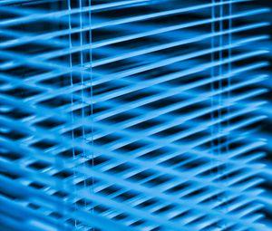Preview wallpaper blinds, stripes, blue