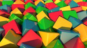 Preview wallpaper blocks, bright, multi-colored