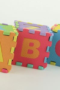 Preview wallpaper blocks, letters, colorful, cognition, development