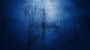 Preview wallpaper blue, blob, paint, matt