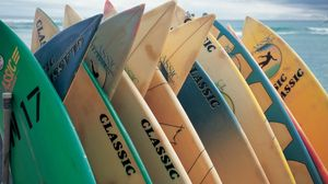Preview wallpaper board, surfing, sea, sport, extreme