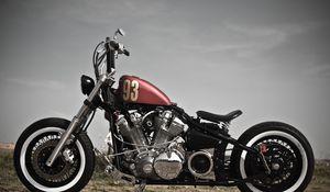 Preview wallpaper bobber, xv 1600, motorcycle, style, bike