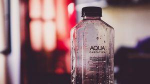 Preview wallpaper bottle, water, drops