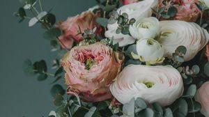 Preview wallpaper bouquet, flowers, composition, decoration