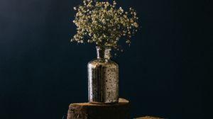 Preview wallpaper bouquet, flowers, vase, decoration