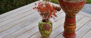 Preview wallpaper bouquet, herbarium, vase, decor