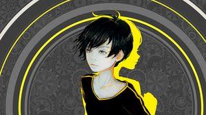 Preview wallpaper boy, child, art, shadow