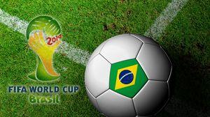 Preview wallpaper brasil, fifa, world cup, 2014, football, ball