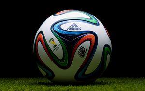 Preview wallpaper brazuca, 2014, world cup, adidas, ball, football