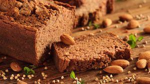 Preview wallpaper bread, almonds, cakes, buckwheat