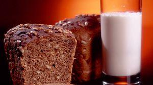 Preview wallpaper bread, milk, baking