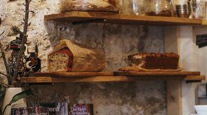 Preview wallpaper bread, pastries, shelves, kitchen