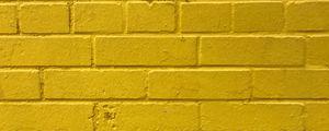 Preview wallpaper bricks, yellow, wall, texture