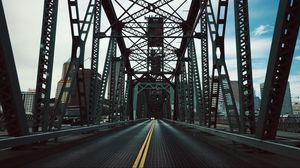 Preview wallpaper bridge, construction, road