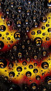 Preview wallpaper bubbles, drops, macro, surface