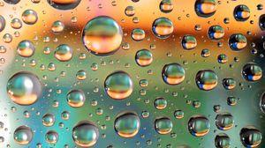 Preview wallpaper bubbles, liquid, macro, gases