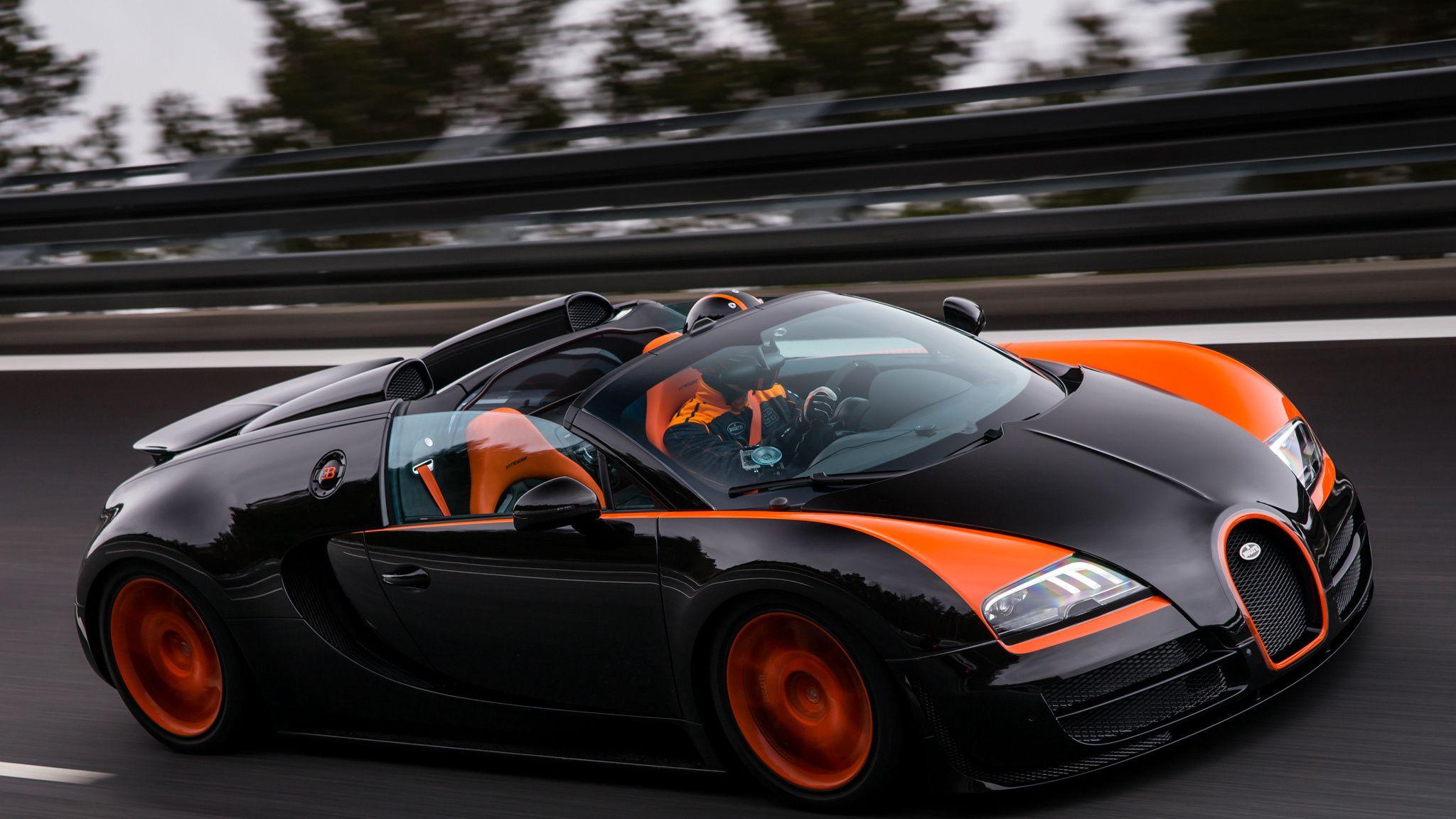 2048x1152 Wallpaper bugatti, grand sport, roadster, vitesse, wrc edition, veyron