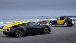 Preview wallpaper bugatti, grand sport, vitesse