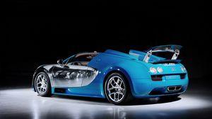 Preview wallpaper bugatti veyron, supercar, 16-4, grand, sport, vitesse, meo, costantini
