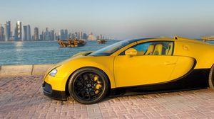 Preview wallpaper bugatti, veyron, supercar, grand, sport, 16 4, 2012, qatar