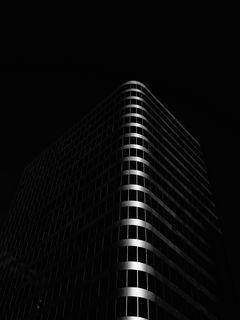 240x320 Wallpaper building, architecture, black, dark