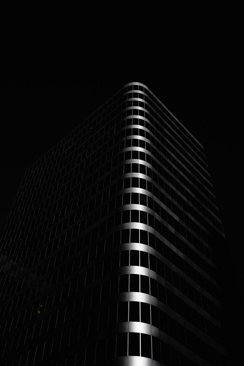 800x1200 Wallpaper building, architecture, black, dark